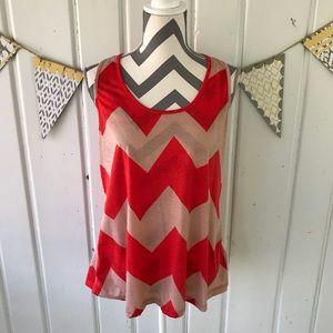5/$25 Julie's Closet Chevron Maternity Tank Top